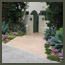 After image of a Rancho Santa Fe Spanish garden transformed with guava