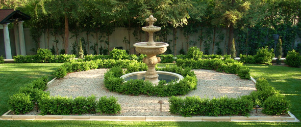 Our company garden landscape design los angeles cbl for Italian garden design
